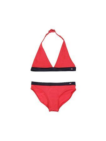 Tommy Hilfiger Mädchen Bikini rot   Kinder   Größe: 128-140   UG00446