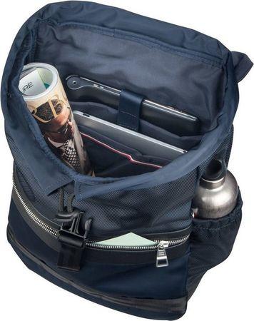TOMMY HILFIGER Rucksack / Daypack »Nylon Mix Flap Backpack 4768«