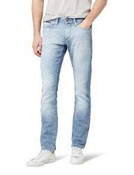 Tommy Jeans Herren  Scanton   Slim Jeans Blau (Berry Light BLUE COMFORT 911) W27/L30