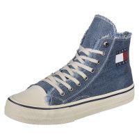 Tommy Jeans Schuhe Hightop Sneakers High denim Herren Gr. 43
