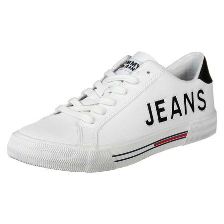 Tommy Jeans Schuhe Retro Sneakers Low weiß Herren Gr. 45