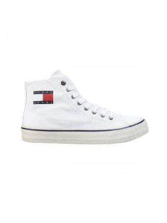 TOMMY JEANS Sneaker Hightop weiß   42