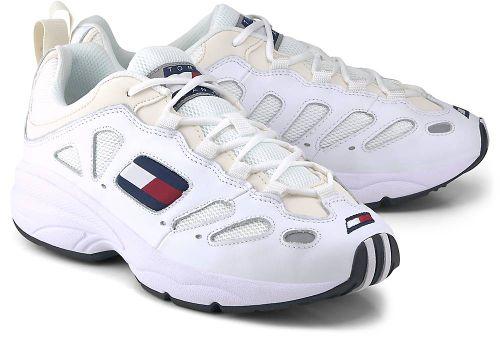 Tommy Jeans, Sneaker Retro Tj in weiß, Sneaker für Herren