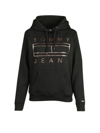 TOMMY JEANS Sweater schwarz   XS