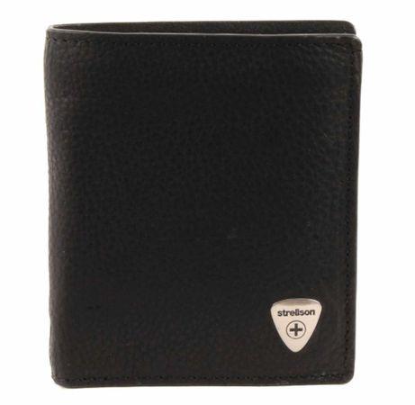 Unisex Strellson Handtaschen schwarz Geldbörse -