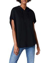 Urban Classics Damen Sweatshirt Ladies Sleeveless Terry Hoody schwarz (Schwarz) X-Small