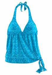 Venice Beach Tankini-Top »Karibik«, in Wickeloptik