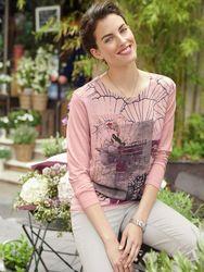 Walbusch Damen Shirt Flowershop Größe 46