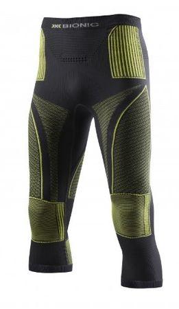 X-Bionic Erwachsene Funktionsbekleidung Man Acc Evo UW Pants Medium Unterwäsche, Charcoal/Yellow
