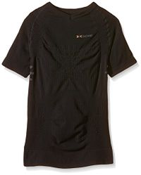 X-Bionic Herren Funktionsshirt Trekking Summerlight Man UW Shirt SH SL, Black/Anthracite, I020250