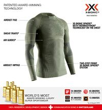 X-Bionic Herren Hunt Energizer 4.0 Shirt Long Sleeve Men