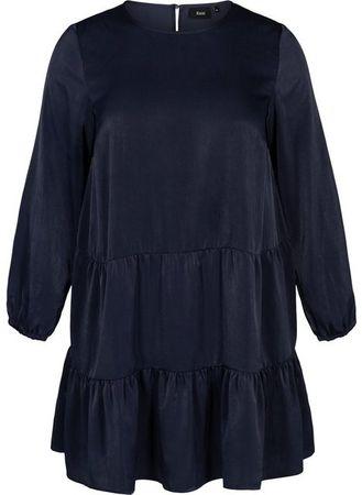 Zizzi Abendkleid Grosse Grossen Damen Shiny Kleid Mit Teilungsnaht Preise Vergleichen